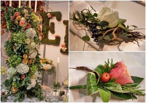 Elizabeth Marsh Floral Design at Brides The Show – October 2013
