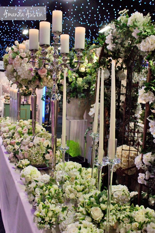 Amanda Austin Flowers at Brides The Show – October 2013