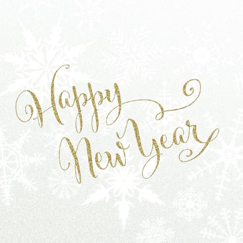 Wishing you a Happy New Year!