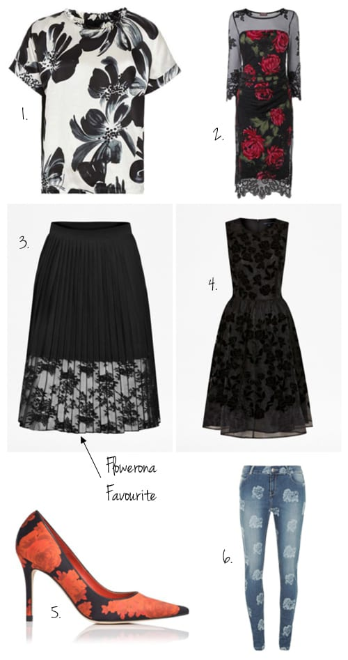 Fabulous floral fashion finds in the January sales