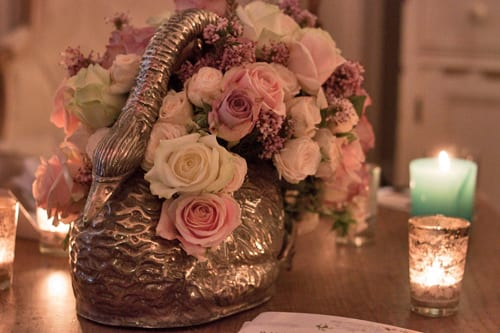 Stunning wedding flower designs by Philippa Craddock Flowers at Quintessentially Weddings' Atelier event