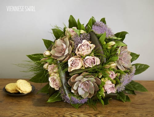 Jane Packer Delivered's new Spring Bouquet Range inspired by cakes & desserts