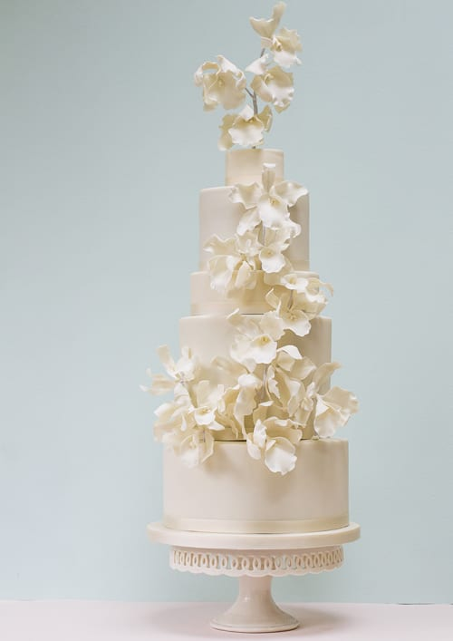 Rosalind Miller Wedding Cakes - Orchids-and-Anemones