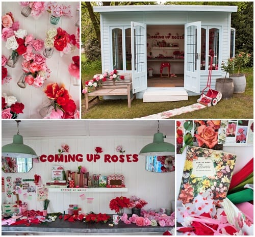 The garden shed…no longer just the male bolthole but now also the female home office