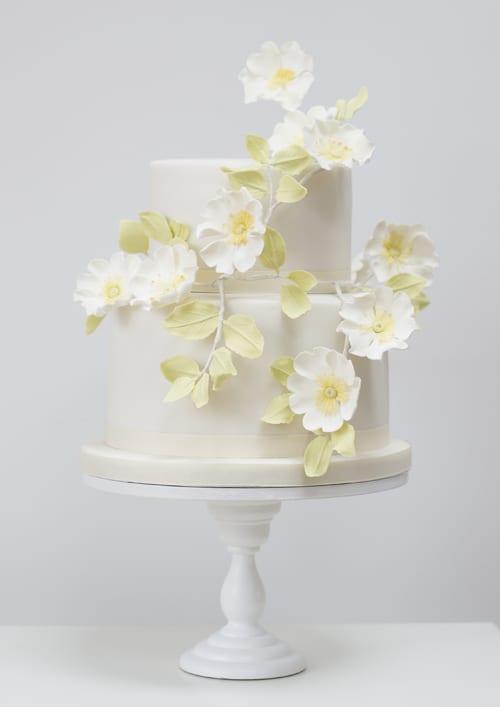 Rosalind Miller Wedding Cakes - Briar Rose