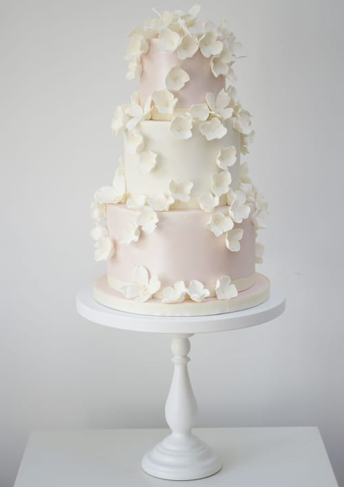 Rosalind Miller Wedding Cakes - Falling-Blossoms