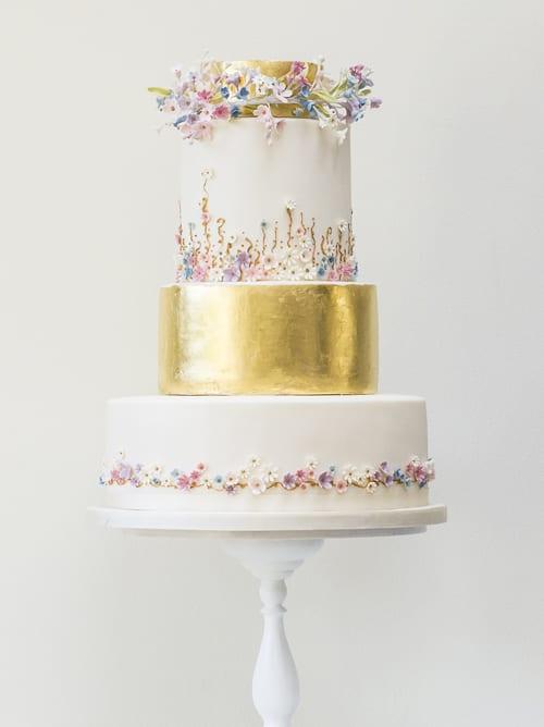 Rosalind Miller Wedding Cakes - Meadow Flowers