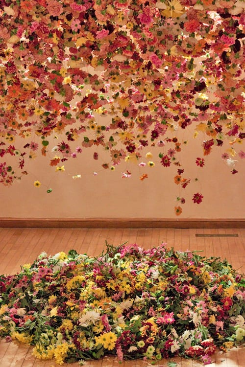 Rebecca Louise Law Floral Installation London Exhibition Feb 2014 Flowerona 23