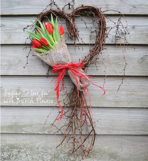 Buying British flowers for your Valentine…availability & where you can order them