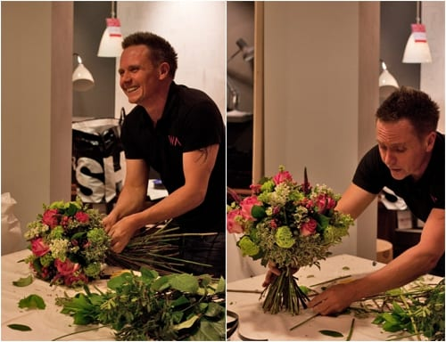 Flower Arranging workshop at Heal's with Wildabout
