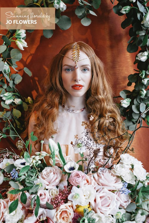 Wonderful florals created by Jo Flowers for Eclectic Eccentricity