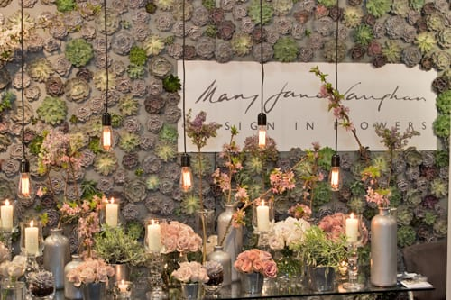 Mary Jane Vaughan at Brides The Show – March 2014