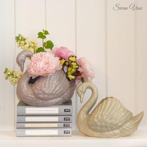 MiaFleur-swan-vase
