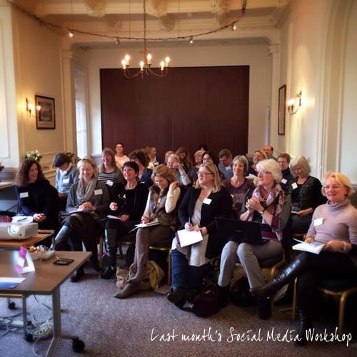 Photographer Emma Davies Social Media Workshop