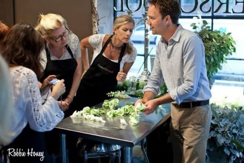 New floristry classes by Robbie Honey taking place next month in London