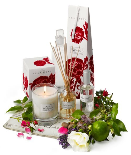 Beautifully scented candles & diffusers from Suffolk based, Illumens