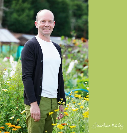 Interview with Jonathan Moseley, florist on The Big Allotment Challenge