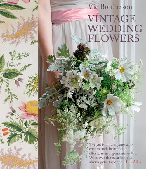 Book Review of Vintage Wedding Flowers by Vic Brotherson