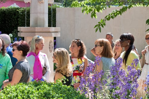 Celebrities-&-Behind-the-Scenes-on-Press-Day-RHS-Chelsea-Flower-Show-2014-Flowerona-Alex-Polizzi-Lorraine-Pascale