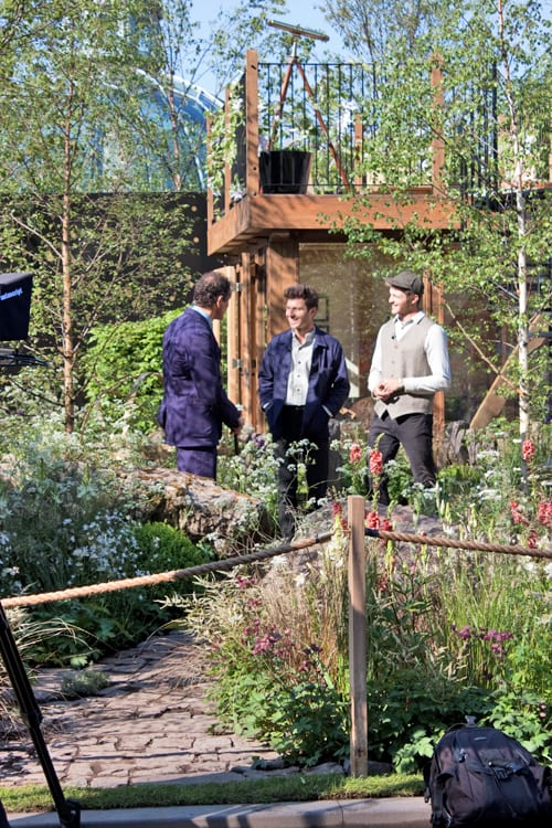Celebrities & Behind the Scenes at Press Day at the RHS Chelsea Flower Show 2014