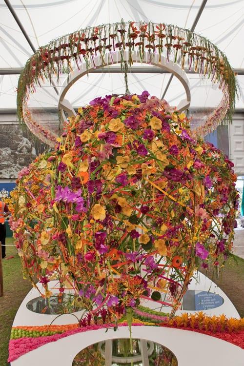 RHS Chelsea Flower Show 2014 – Interflora's Stand