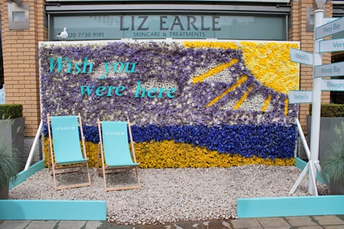Chelsea in Bloom 2014 : Part 2 – Silver Award – Liz Earle