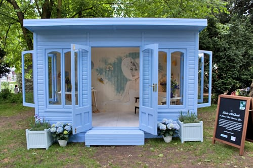 RHS Chelsea Flower Show 2014 – Inside Lizzie McQuade's Artisan Retreat