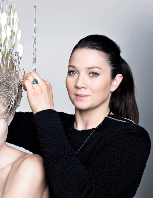 New Covent Garden Flower Market in association with Fusion Flowers Magazine presents Danish floral designer Annette von Einem