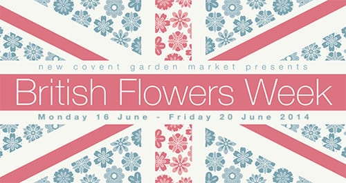 British Flowers Week 2014 at New Covent Garden Flower Market