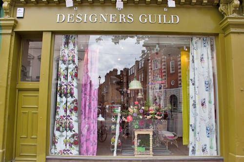 Visiting Designers Guild in London for a wonderful Bloggers Afternoon Tea