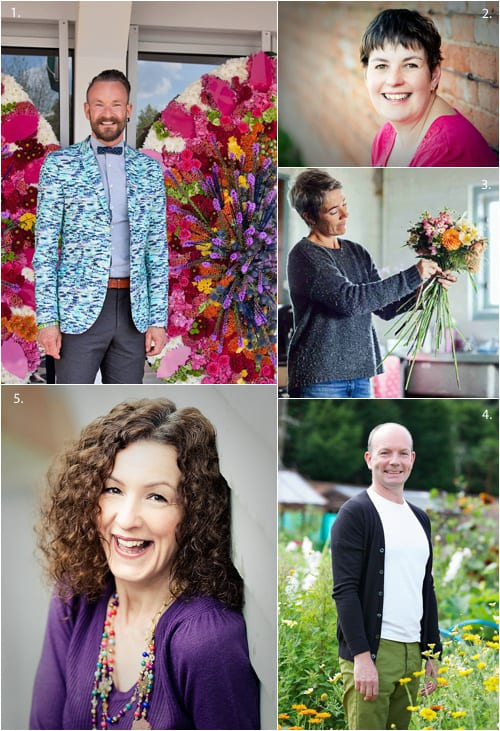 Details of flowery people taking part in the RHS Hampton Court Palace Flower Show 2014 & a chance to win tickets!