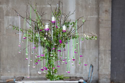 Simon-Lycett---candelabra-of-garden-pinks