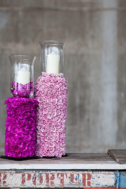 Simon-Lycett---garden-pink-candlesticks