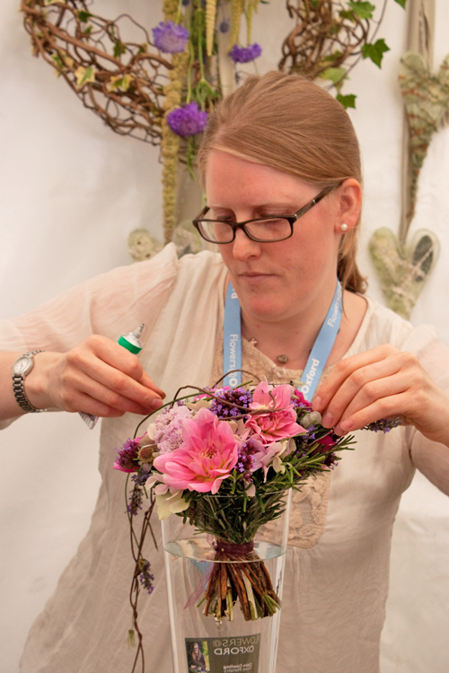 Claire-Cowling-Thrive-Floristry-Flowers-at-Oxford-2014-Flowerona-6