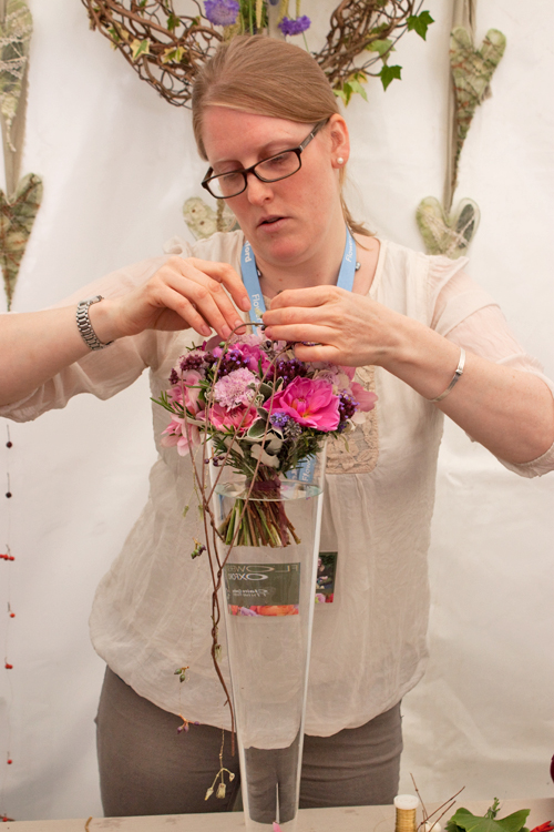 Claire-Cowling-Thrive-Floristry-Flowers-at-Oxford-2014-Flowerona-7