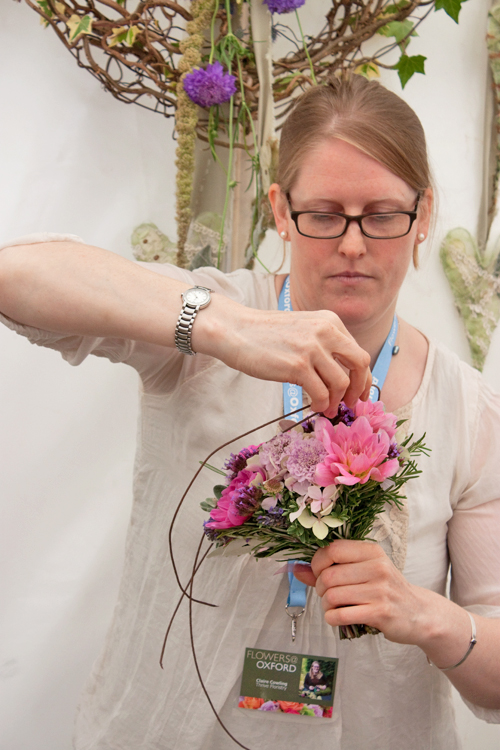 Claire-Cowling-Thrive-Floristry-Flowers-at-Oxford-2014-Flowerona-9