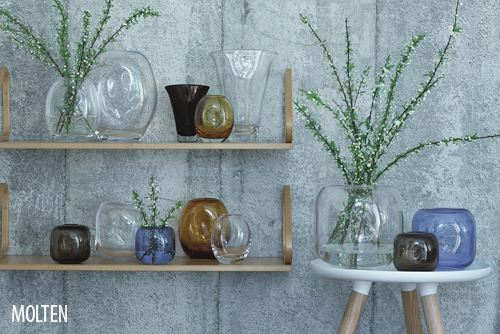 Beautiful new vases from LSA International – Umberto, Loft, Light & Flower Texture and Molten