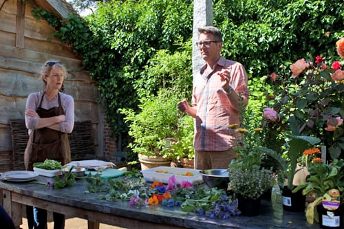 Edible Flowers Workshop at Petersham Nurseries