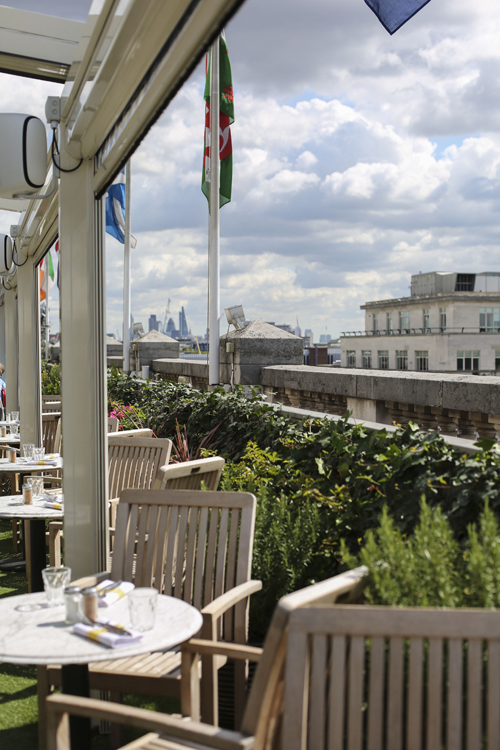 On the Roof with Q…a secret rooftop restaurant in the heart of London