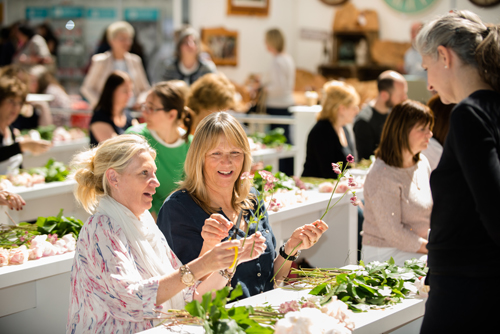 Spirit of Christmas Fair 2014 – Floristry workshops, plus a special readers' ticket offer