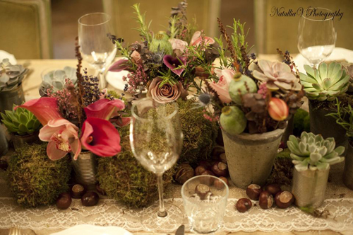 Florist Friday: Rustic Style Master Class by The Flower Fashion at Mari Vanna