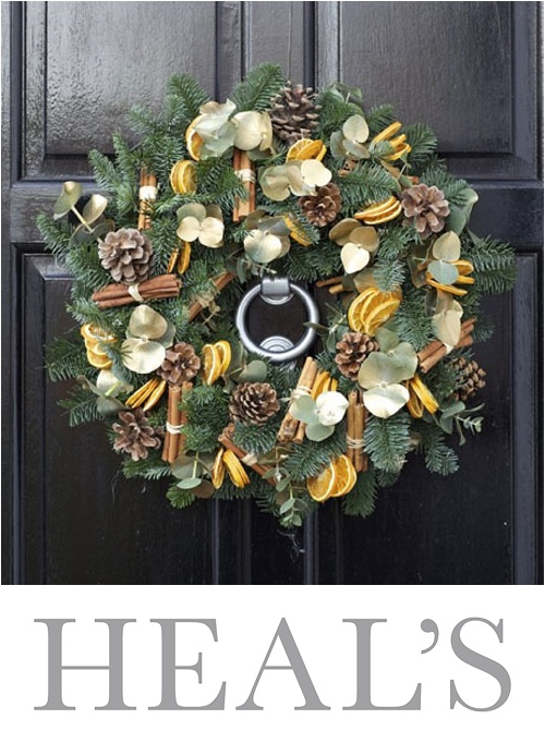 Christmas Wreath Making workshops at Heal's with Wildabout & a chance to win tickets