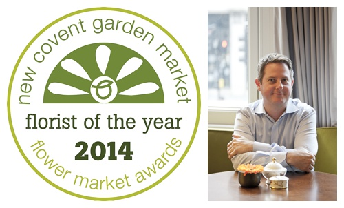 New Covent Garden Flower Market – Florist of the Year 2014