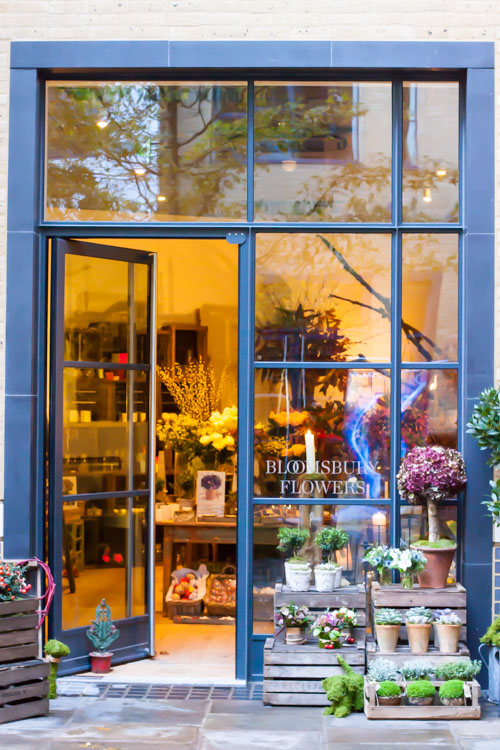 Bloomsbury Flowers Ham Yard Village Flowerona-1