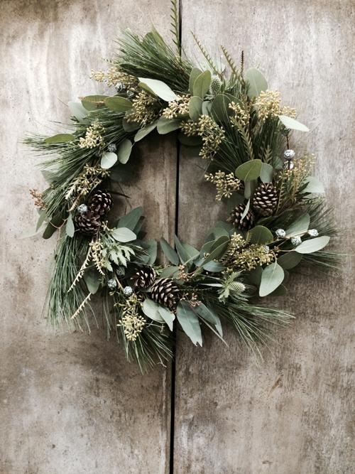 Blue-Sky-Flowers-Christmas-Wreath-Making-Workshop-Flowerona-6-