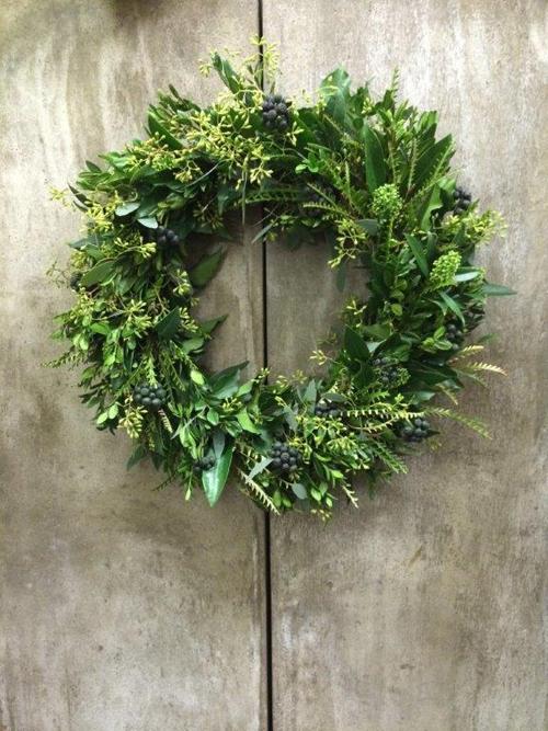 Blue-Sky-Flowers-Christmas-Wreath-Making-Workshop-Flowerona-9