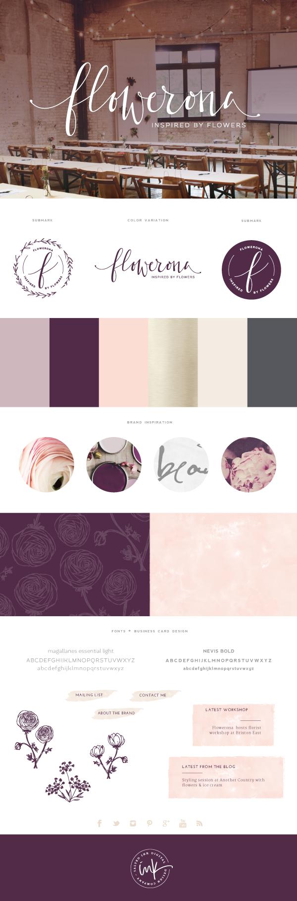 Flowerona Brand by Saltedink
