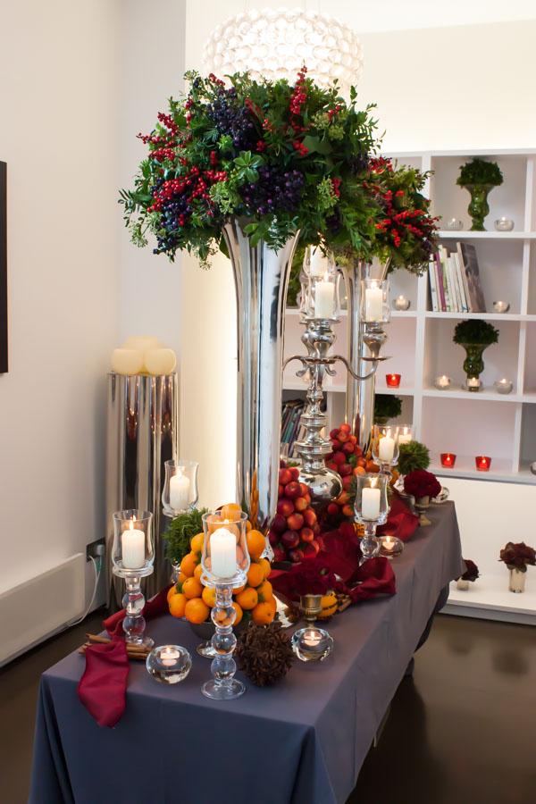 Mary Jane Vaughan Festive Open House 2014 Flowerona-28