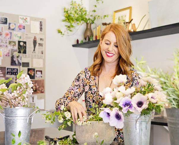 Flowerona Links: With wild flowers, interviews & a wreath…