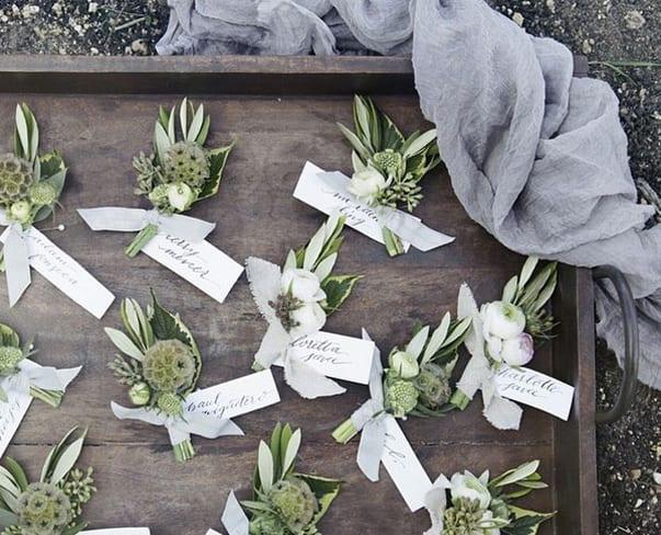 Flowerona Links: With boutonnières, paper flowers & a farmer…